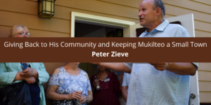 Peter Zieve on Giving Back to His Community and Keeping a Small Town